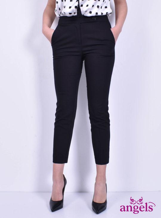 Γυναικείο Μαύρο Παντελόνι || Angels Fashion||NEJMA