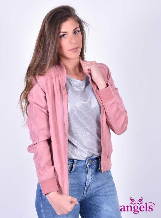 Ροζ Ανοιξιάτικο Μπουφάν