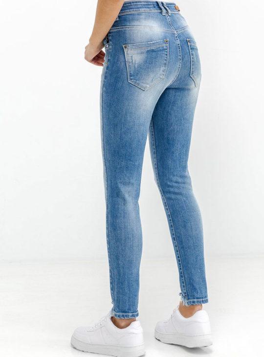 Edward Jeans.Γυναικείο τζιν Παντελόνι ||Γυναικεία τζιν ||Edward