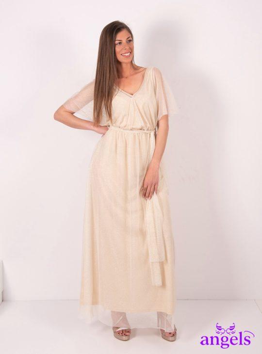 c480eab94eb Μάξι επίσημο φόρεμα με στρας||Επίσημα φορέματα