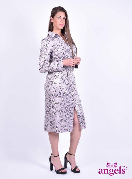 Μίντι Μακρυμάνικο Φόρεμα||Γυναικεία Ρούχα||Φορέματα