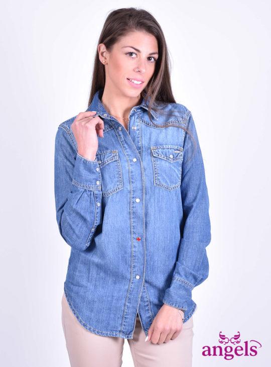 Τζιν γυναικείο πουκάμισο NEW DENIM