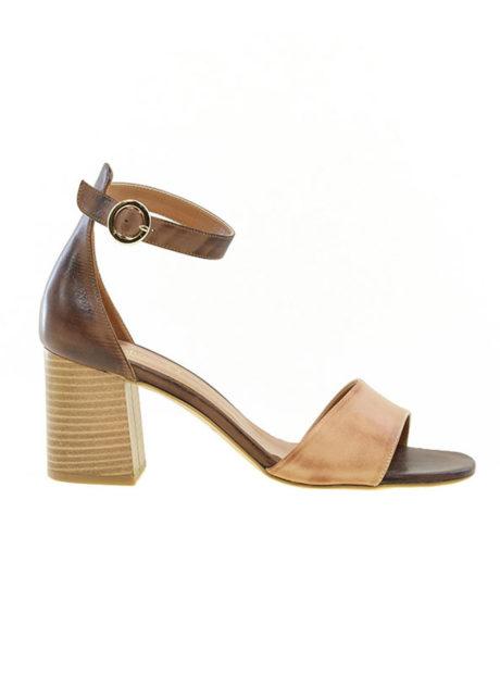 Ταμπά γυναικεία πέδιλα δερμάτινα Fardoulis shoes