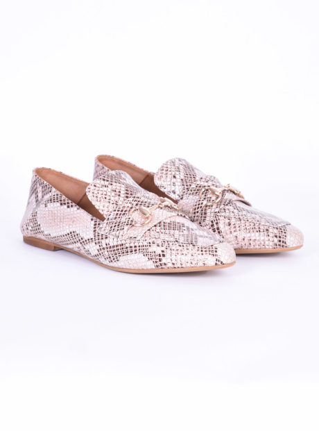 discount sale exclusive deals super cute Δερμάτινα Loafers/Mules Snake She Collection