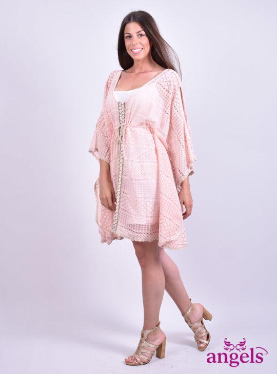 ΡΟΖ Φόρεμα||Φορέματα