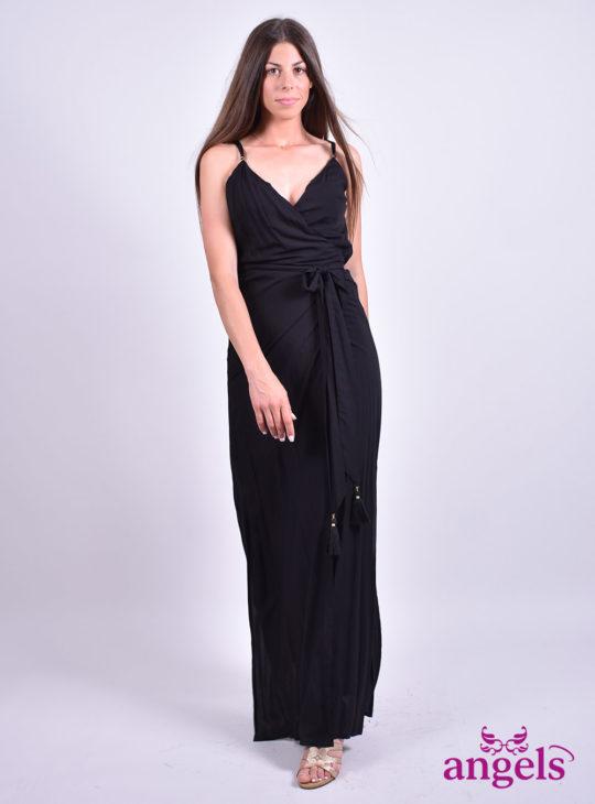 Μαύρο κρουαζέ||Φορέματα