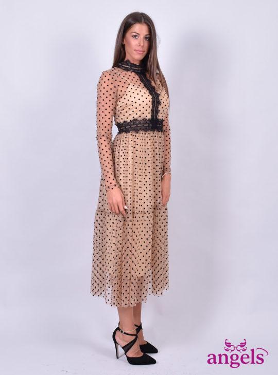 Πουά Επίσημο Φόρεμα||Φορέματα||White22