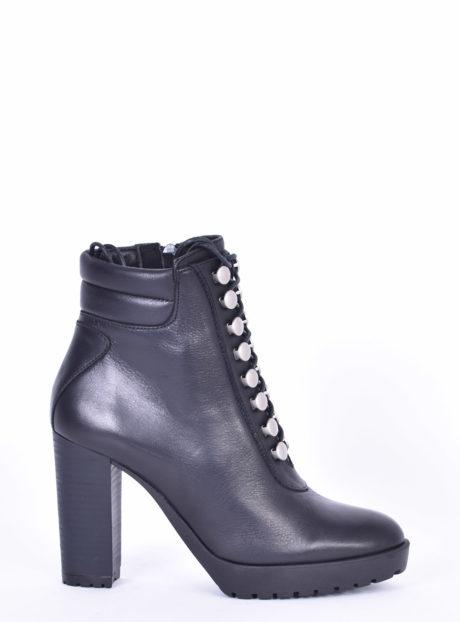 Δερμάτινα ψηλοτάκουνα μποτάκια Fardoulis shoes