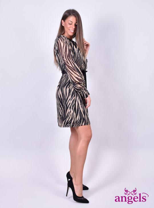 Φόρεμα Zebra Print