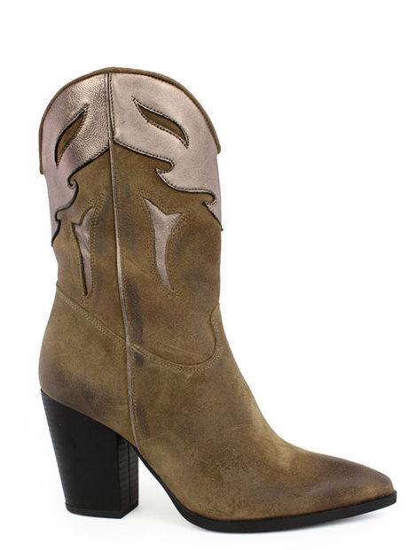 Δερμάτινες Καουμπόικες μπότες Fardoulis shoes||Γυναικείες Δερμάινες Μπότες