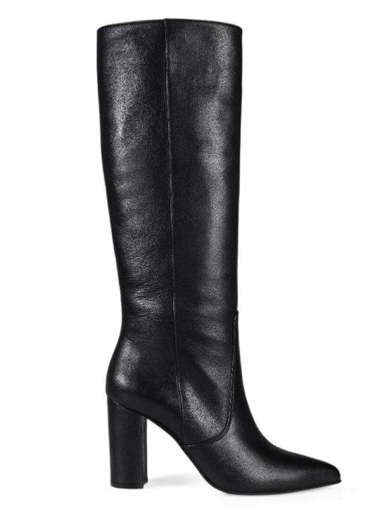 Μαύρες Δερμάτινες Μπότες 7119 Fardoulis Shoes|| Μπότες||