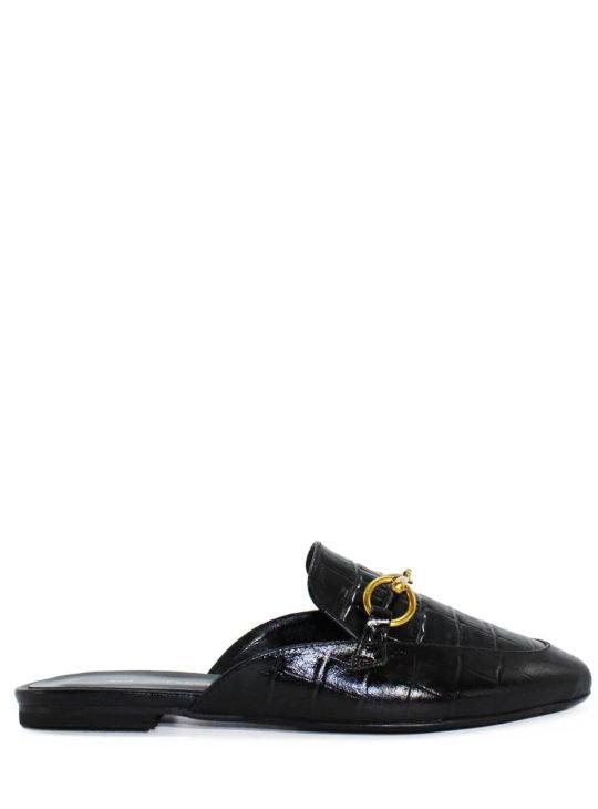 Δερμάτινα mules||Γυναικεία δερμάτινα παπούτσια She Collection