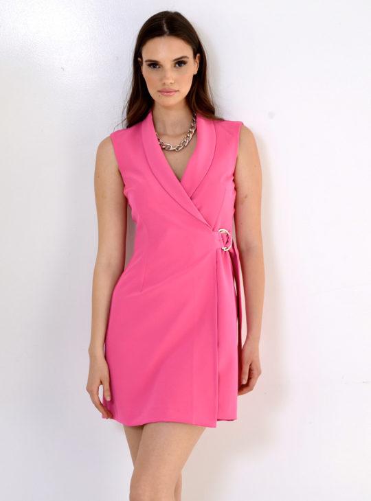 Φούξια Φόρεμα WE COSS ||Το φόρεμα που φόρεσε η Ελένη Μενεγάκη