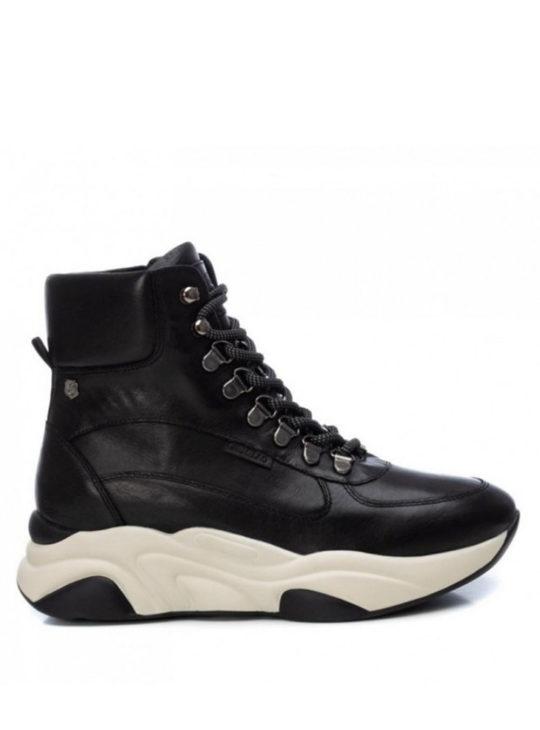 Δερμάτινα Sneakers Γυναικεία Μποτάκια Carmela Shoes