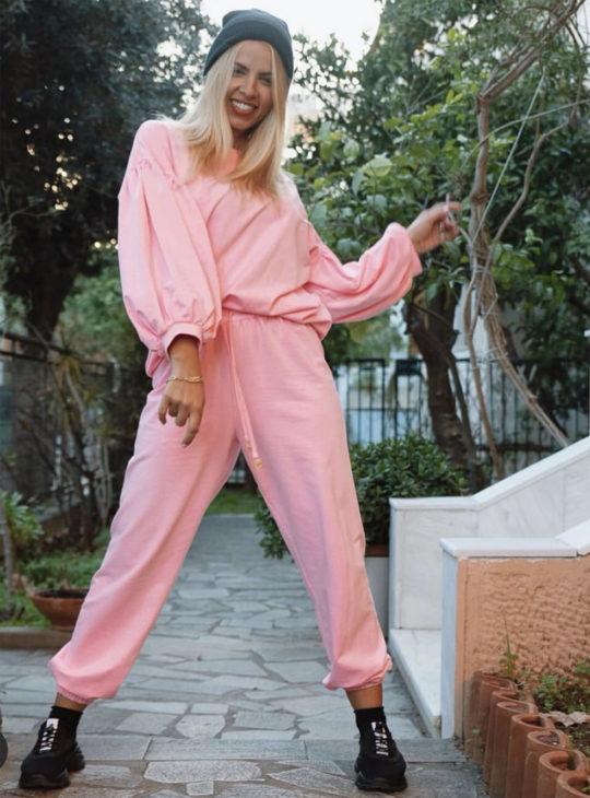 NEMA Loungewear Set Neon Pink