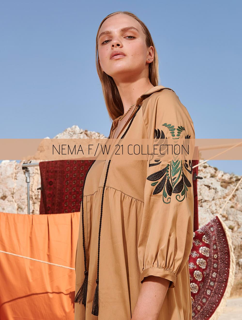 Η νέα COLLECTION της NEMA RESORTWEAR Φθινόπωρο/Χειμώνας