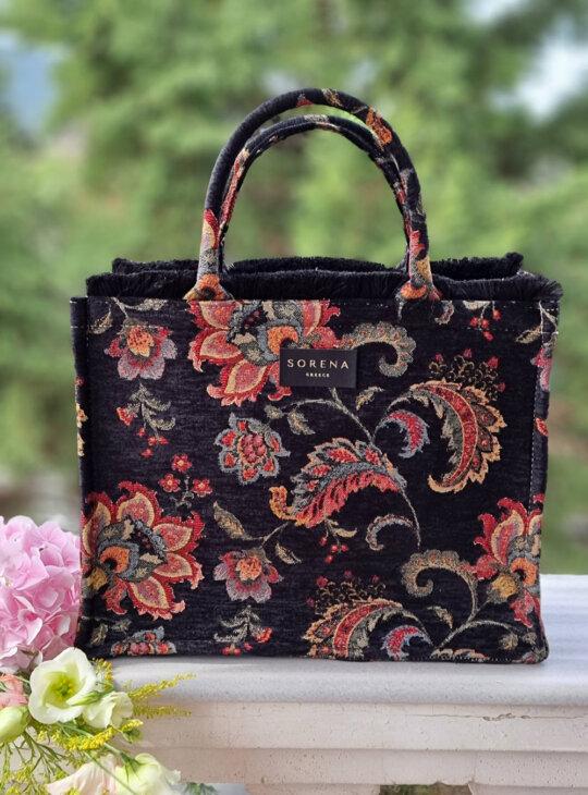Γυναικεία τσάντα SORENA MYRSINI